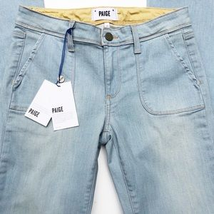 Light Wash Flared Jeans  NWT Paige sz 28